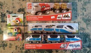 Intercity Train Set, Cogwheel Train Set, Whistling Parrot Engine  Wooden Railway