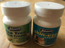 Johnson's Set Of Tea Tree Skin Cream & Skin- Eze Cream for Dog,Cat & other Pets