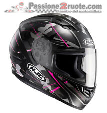 Helmet lady moto Hjc Cs-15 Cs15 Songtan Mc8sf XS black fucsia casque integral