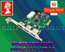 Power Over eSATA eSATAp II & USB 3.0 USB3.0 to PCI-E PCI Express Card