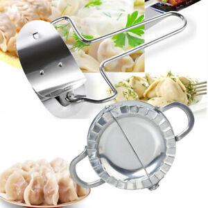 Stainless Steel Dough Presser Cutter+Dumpling Pie Mould Maker Pastry Tool
