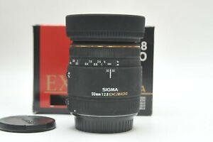 Sigma 50mm F/2.8 EX DG 1:1 Macro Lens for Canon EF Rebel  T3 T7i