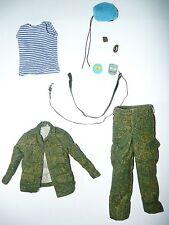 1/6 DAMTOYS Russian Digital Flora female uniform blouse pants VDV beret belt