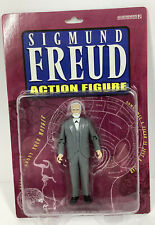 NEW IN PACKAGE SIGMUND FREUD ACTION FIGURE 2002 ACCOUTREMENTS
