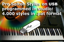 Usb thumb pen drive 4300 pat styles stili ritmi Ketron Solton X1 X4 XD3 XD9