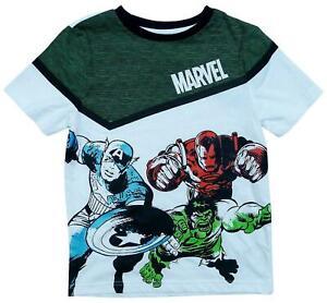 new boys Marvel Avengers t-shirt,Hulk,Ironman,Captain America / 4-12yrs.
