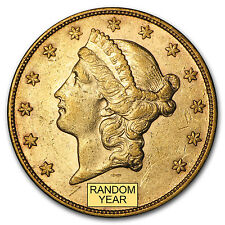Random Year $20 Liberty Gold Double Eagle Pre-33 Gold Extremely Fine XF