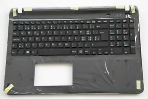 For Sony SVF152 SVF1521A1E SVF1521A2EB Keyboard Swiss German Tastatur Top case
