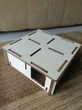 Reconfigurable Wooden Hamster House Gerbil Small Animal