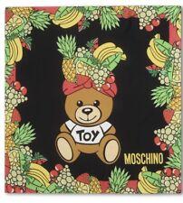 Moschino Teddy Bear Silk Scarf/Foulard