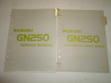 suzuki gn250 gn 250 1982 1983 workshop service manual repair