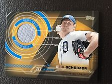 2014 Topps BB Series 2 MAX SCHERZER Detroit Tigers Trajectory Relic Card TR-MS