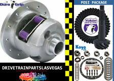 "GM Chevy 8.2"" 10 Bolt Yukon Duragrip Posi Ring Pinion Gear Set Master Kit 3.36"