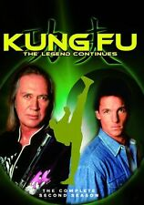 KUNG FU: LEGEND CONTINUES - COMPLETE SECOND SEASON 2 -  Region Free DVD - Sealed