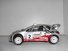 PEUGEOT 206 WRC RALLY SUECIA 2002 GRONHOLM #2 ALTAYA IXO 1:18