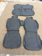 Leather Seat Covers For 2009-13 NISSAN CUBE ALL MODELS GRAPHITE #143