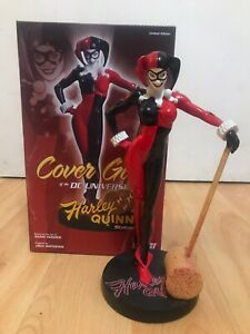 Dc Cover Girls Harley Quinn Statue