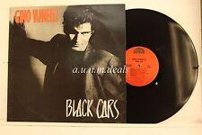 """Gino Vannelli - Black Cars - HME  Records LP 12"""" (VG) (PROMO)"""