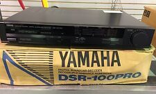 vintage YAMAHA DSR-100 PRO Natural Sound Decoder / Remote / Manual EXCELLENT !!