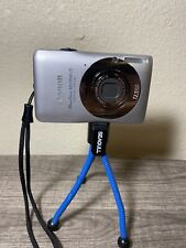 Canon PowerShot Digital ELPH SD1300 IS 12.1 MP Digital Camera no charger