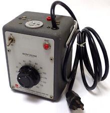 GENERAL RADIO GENRAD W5MT3 VARIAC AUTOTRANSFORMER IN 115V OUT 0-140V 6A TESTED!!