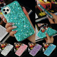 For iPhone 11 Pro Max 6 7 X XS XR Women Bling Glitter Shockproof Back Case Cover