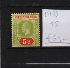 !  Virgin Islands  1913.  Stamp. YT#45. €60.00 !