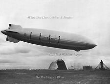 Poster Print: 18x24: Airship USS Macon Landing At Moffett Field, CA, 1933