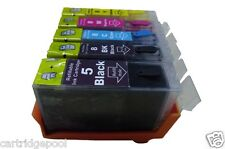 Refillable ink cartridges for Canon PGI-5 CLI-8 PIXMA MP610 MP800 MP810 iP5200