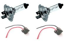 Replacement H7 Bulb Holders x 2 With leads Plus 2 x H7 Bulbs (BCH7x2 + H7x2)