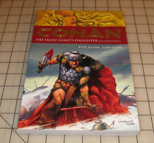 CONAN The Frost-Giant's Daughter KURT BUSIEK / CARY NORD VG+ CONDITION TPB