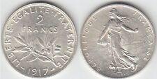 Gertbrolen 2 Francs Argent Type Semeuse 1917  Exemplaire N° 2