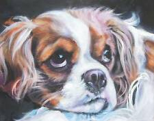 Cavalier King Charles painting LSHEP dog 11x14 PRINT