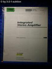 Sony Bedienungsanleitung TA F448EB / F248E Amplifier (#1480)