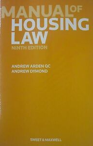 Dymond, Andrew : Manual of Housing Law Highly Rated eBay Seller Great Prices