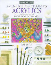 """""""AS NEW"""" Introduction to Acrylics (Art School), Smith, Ray, Book"""