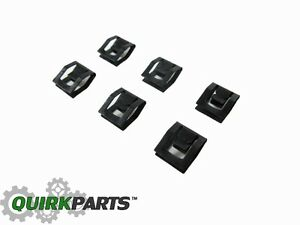 11-14 DODGE CHALLENGER RADIATOR GRILLE CLIP SET OF 6 NEW MOPAR GENUINE