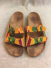 Sol Amor Made In Spain Sandals Multicolor Women Sz 40