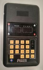 Vintage 1979 Entex Electronics Electronic Poker - Works Great - Made In Japan