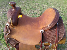 "17"" Spur Saddlery Ranch Roping Saddle (Made in Texas) Wide FQHB"