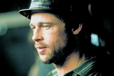 Brad Pitt In Hat And Open Shirt With Beard From Snatch 11x17 Mini Poster