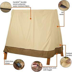 3 Seater Waterproof Outdoor Garden Swing Seat Covers Hammock Cover Furniture kit
