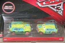 "DISNEY PIXAR CARS 3 ""2 PACK HIT & RUN"" NEW IN PACKAGE, SHIP WORLDWIDE"