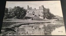 Vintage Linlithgow Postcard Palace & Loch from E. B/W, Unposted