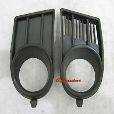 2004-2008 Suzuki Swift Front Bumper Lamp Grille Fog Light Bezel Cover Pair