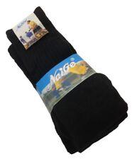 S380 3 Paar Fussballsocken schwarz kniehoch Socken Sportsocken Baumwollsocken V2
