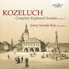 JENNY SOONJIN KIM -COMPLETE KEYBOARD SONATAS VOL.1 2 CD NEUF KOZELUCH,LEOPOLD