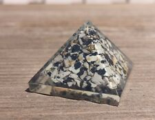SMALL (25-30mm) DALMATIAN JASPER STONE ORGONE GEMSTONE PYRAMID ORGONITE