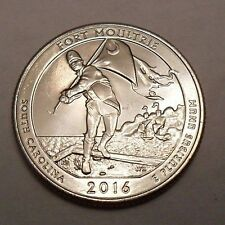 2016 D FORT MOULTRIE / SUMTER QUARTER   **FREE SHIPPING**