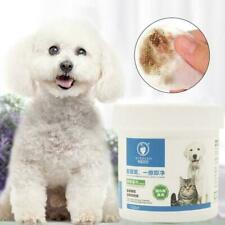 120pcs Pet Hygiene Wipes Dog Clean Ear Paw Body Gentle Clean Pa Stains V0U3